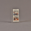 """Front view of 3"""" x 6"""" rectangle acrylic embedment award with lawfully wed Arizona Republic newspaper cast in acrylic."""