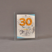 """Front view of 5 1/2"""" x 6"""" rectangle acrylic embedment award with Sports Spectacular Top 30 Honorees cast in acrylic."""