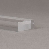 "3/4"" thick clear base [+20%]"