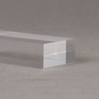 "1"" thick clear base [+24%]"