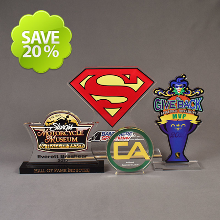 Picture for category LaserCut™ Acrylic Awards