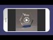 "Picture of ColorCast™ Hexagon Acrylic Award 7"""