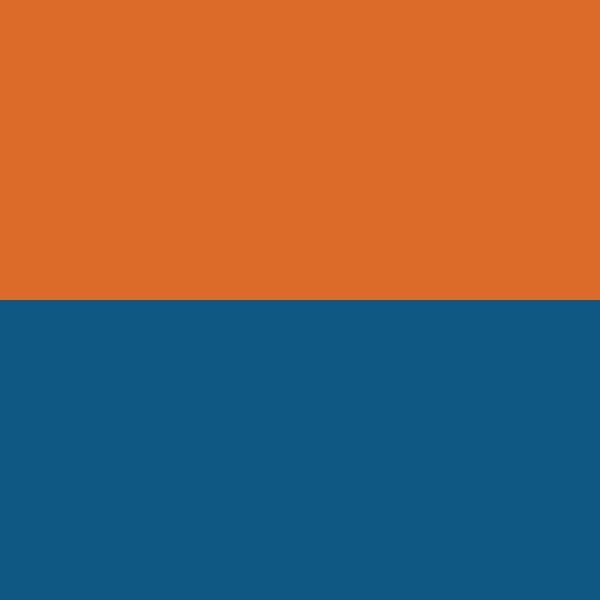Blue | Orange