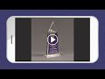 """Picture of Lucent™ Luminous Acrylic Award 10"""""""